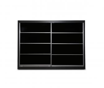 black wardrobe, sliding wardrobe, modern wardrobe