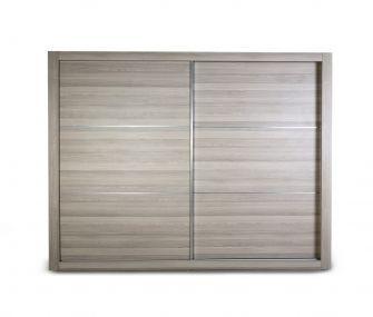 light wooden wardrobe, sliding wardrobe, modern wardrobe