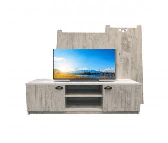 grey, tv unit, living room, hub furniture