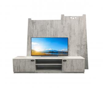 grey, tv table, living room, hub furniture