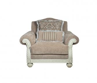 classic armchair, beige armchair, living room