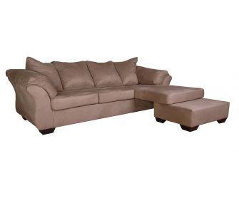 Hub Furniture • Light Brown Corner Sofa • Hub Furniture