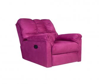 Pink Recliner Chair,Hub Furniture,Living room