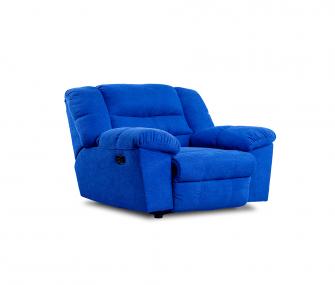 Blue Reclining Chair, Living room,Hub furniture