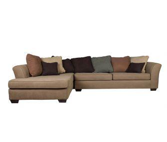 Hub Furniture • brown Left L shaped corner sofa • brown Left L shaped corner sofa • Hub Furniture
