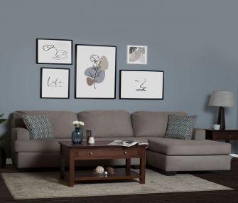 Hub Furniture • Small Grey L Shaped Sofa, hub furniture • Small Grey L Shaped Sofa, hub furniture • Hub Furniture