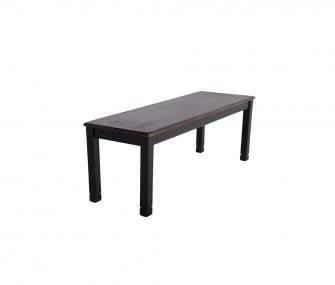 black modern dining bench, Dining room furniture,Hub Furniture,dining room