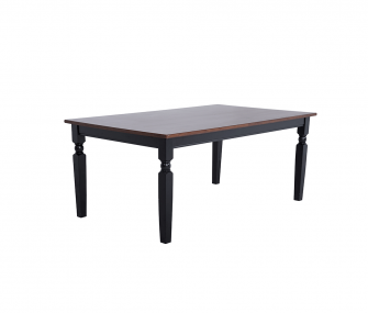 black wooden modern dining table, Dining room furniture,Hub Furniture,dining room