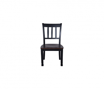 black wooden classical dining chair, Dining room furniture,Hub Furniture,dining room