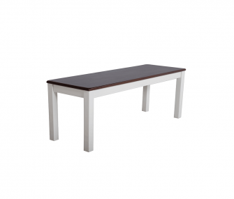 white wooden dining bench, Dining room furniture,Hub Furniture,dining room