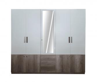 5 doors wardrobe, wardrobe, bedroom