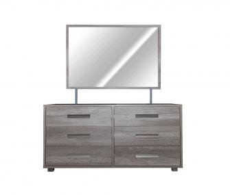ALS-258-BD Dresser with mirror