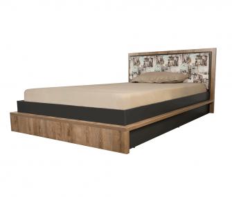 brownish grey, kids bed, bedroom, hub furniture