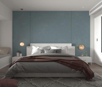 غرفة نوم مودرن كامله لون ابيض
