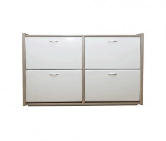 white, light wood, shoe rack, hub furniture