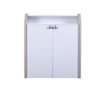 white shoe rack, shelves, hub furniture