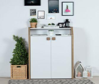 wood white, shoe rack, modern, hub furniture