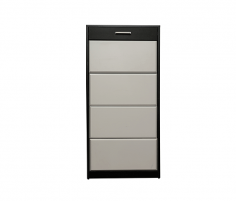 black, white, shoe rack, hub furniture