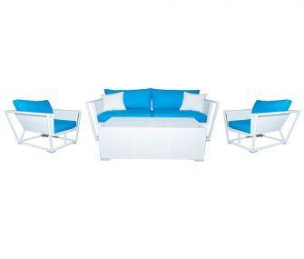 hubfurniture, blue, white, outdoor