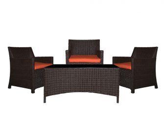 Black patio chair set,hub furniture,garden furniture