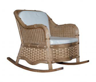 rattan chair, beige, outdoor