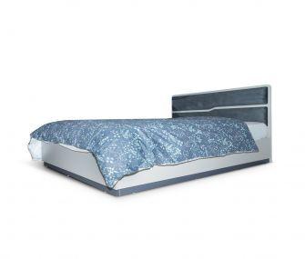 grey bed, queen bed, bedroom, hub furniture