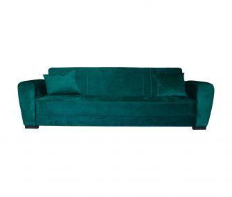 dark green, sofa bed, hub furniture