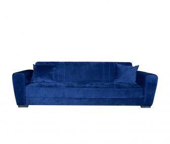 blue, sofa bed, hub furniture