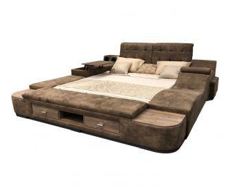 سرير ماستر بني متعدد المزايا