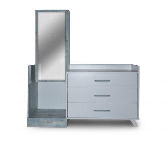 EM-SIENA-MATT BD Dresser with mirror