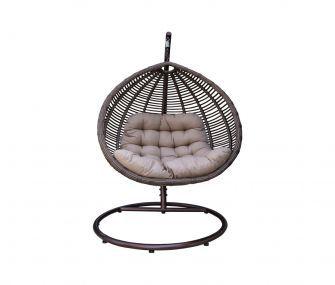 hammock, brown, rattan