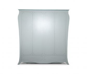 white wardrobe, 4 doors wardrobe, bedroom