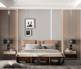 غرفة نوم رئيسية 180 سم بني في اسود