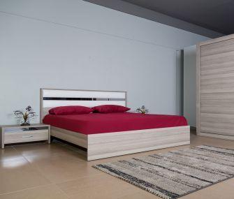 غرفة نوم مودرن بيج  160 سم،غرفة نوم كامله ،هب للاثاث
