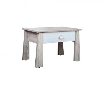wooden nightstand, bedroom, hub furniture
