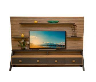 brown tv unit, living room, hub furniture