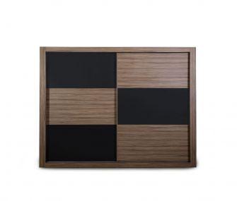 wooden grey, sliding wardrobe, modern wardrobe