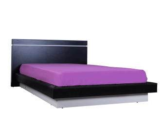 black bed, kids bedroom, hub furniture