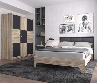 120cm Grey Youth Bedroom, youth bedroom , bedroom furniture, modern bedroom furniture , modern youth bedroom , 120 cm bedroom set