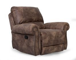Brown Recliner Chair, Traditional living room,HUB Furniture