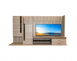 light wooden tv unit, living room, hub furniture