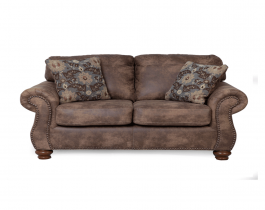 dark beige loveseat, comfy loveseat, living room