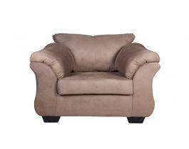 comfy armchair, beige armchair, living room