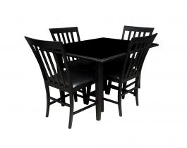 black dining set, Dining room furniture,Hub Furniture,dining room