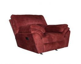 """""""Brick Red Recliner Chair, red chair , recliner , reclining chair , hub furniture, hub furniture recliner chair  """""""