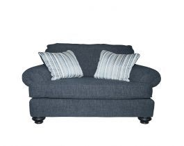dark grey armchair, armchair, living room