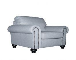 grey armchair, armchair, living room