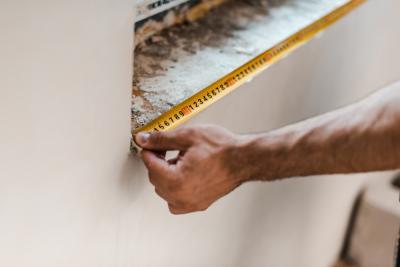 كيفية أخذ قياسات منزلك