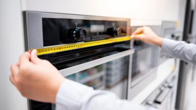 اختيار أجهزة المطبخ بدون قياس