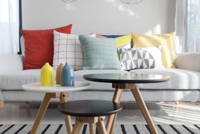 Different Types of Tables in a Living Room